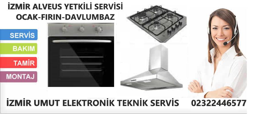 İzmir Alveus yetkili servisi ocak fırın davlumbaz