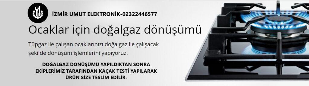 İzmir Teknik Servis Ocak Dönüşümü